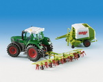 Kibri 12233  CLAAS Set FENDT - ROLLANT  H0