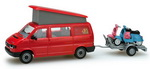 Herpa 049511  VW-Kombi T4 California  H0