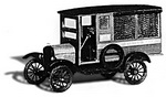 Jordan 0215  1925 Ford Model T US Mail Truck (набор для сборки)  H0