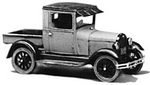 Jordan 0240  1928 Ford Model A Closed Cab Pickup (набор для сборки)  H0