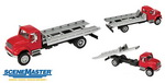 Walthers 11591  International 4900 Roll-On/Roll-Off Flatbed Truck  H0