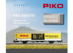 "PIKO 55051  программное обеспечение для вагона Messwagen (CD-ROM) ""PIKO Analyst""  H0"