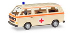 "Herpa 927918  VW T3  ""Krankentransport""  H0"